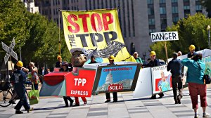 US-TRADE-PACIFIC-TPP-PROTEST