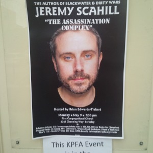 Scahill in Berkeley MAY 2016 poster, IMG_20160509_194332