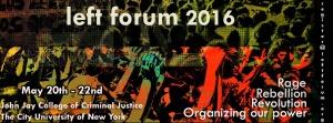 left forum 2016